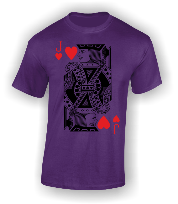Jack of Hearts (Full) T-Shirt
