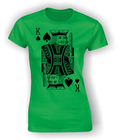King of Spades (Full) T-Shirt