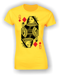 Queen of Diamonds (Full) T-Shirt
