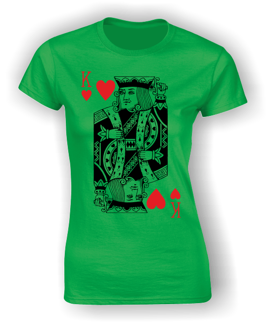 King of Hearts (Full) T-Shirt