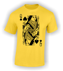 Queen of Spades (Full) T-Shirt