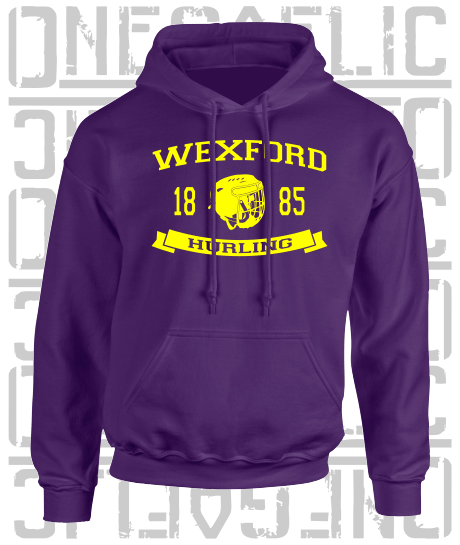 Hurling Hoodie - All Counties Available - Adult