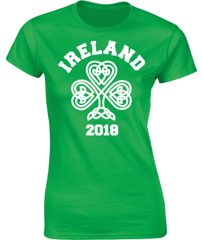 Ireland 2019 Celtic Shamrock T-Shirt.