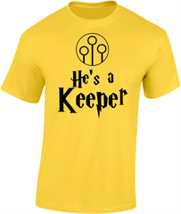 'He's/She's a Keeper' - Valentine's T-Shirt