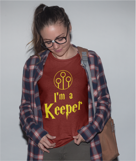 'I'm/They're a Keeper' - Valentine's T-Shirt