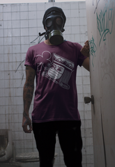 King of Clubs, Wearing Face Mask, Mens T-Shirt (Anti-COVID-19)