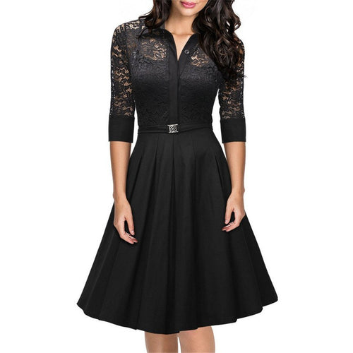 Elegant Evening Party Vestidos - womozon