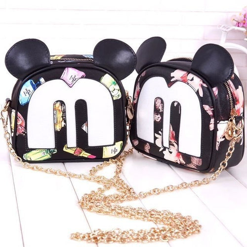Mickey Printed Shoulder Bag