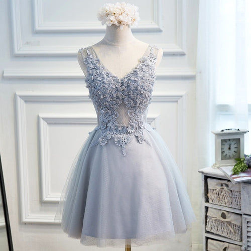 FLowers Crystal Party Dress - womozon