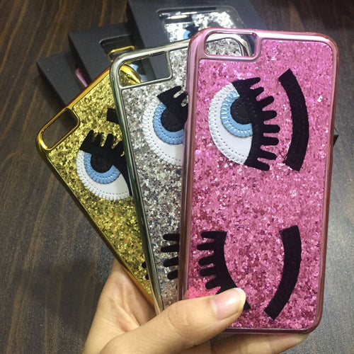 big eyes Cases for iPhone 7 5 5s SE 6 6S Plus