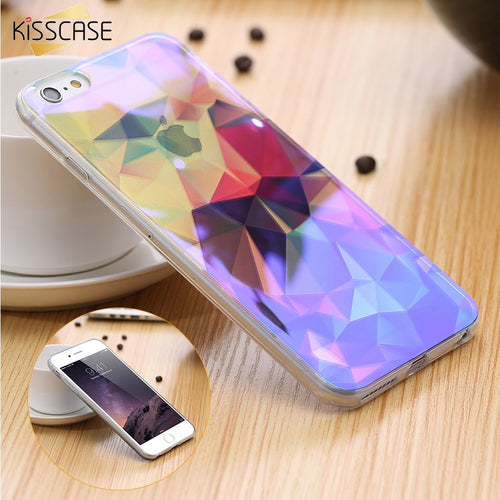 Blue Ray Light Case For iPhone 7 6 6S 6 Plus 6S Plus