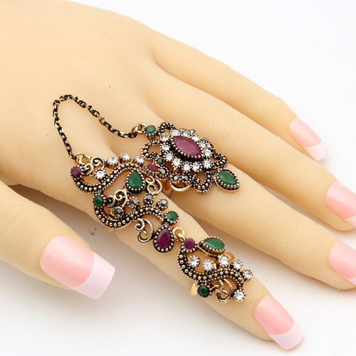 Flower Turkish Ring