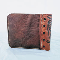 Custom Order Baseball Glove Wallet. Signature Series. Classic BiFold