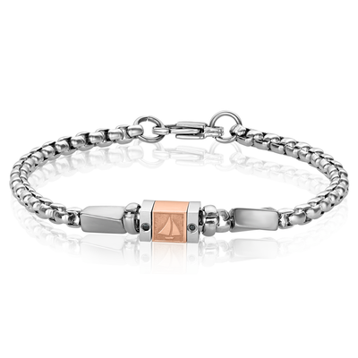 ITALGEM STEEL S.STEEL BOATING CHAIN BRACELET