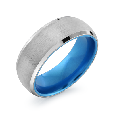 TUNGSTEN BRUSHED BLUE-IP INNER RING