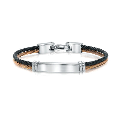 ITALGEM STEEL CABLE KIDS BRACELET