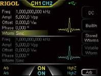 Arb16M-DG1000Z   16M Arb memory Depth Option - Rigol Italia