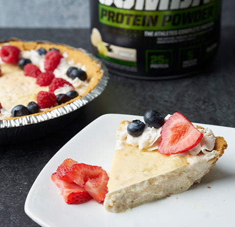 RECIPE: 4th OF JULY COMBAT CHEESECAKE