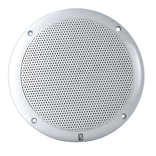"Poly-Planar 5"" 2-Way Coax-Integral Grill Speaker - (Pair) White"