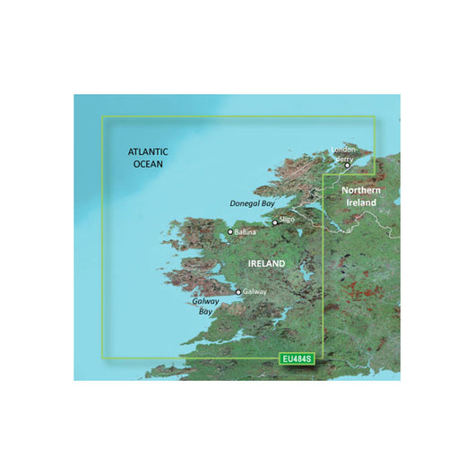 Garmin BlueChart® g3 Vision® HD - VEU484S - Ireland North-West - microSD™/SD™