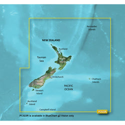 Garmin BlueChart® g2 Vision® HD - VPC023R - New Zealand - microSD™/SD™