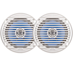 "JENSEN 6.5"" Coaxial Waterproof Speaker - (Pair) Silver"