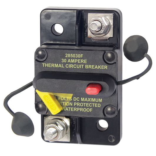 Blue Sea 7181 30 Amp Circuit Breaker Surface Mount 285 Series