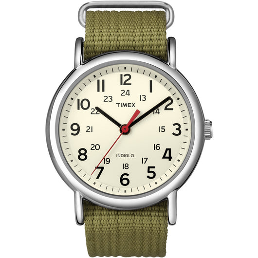 Timex Weekender® Slip-Thru Watch - Olive Green