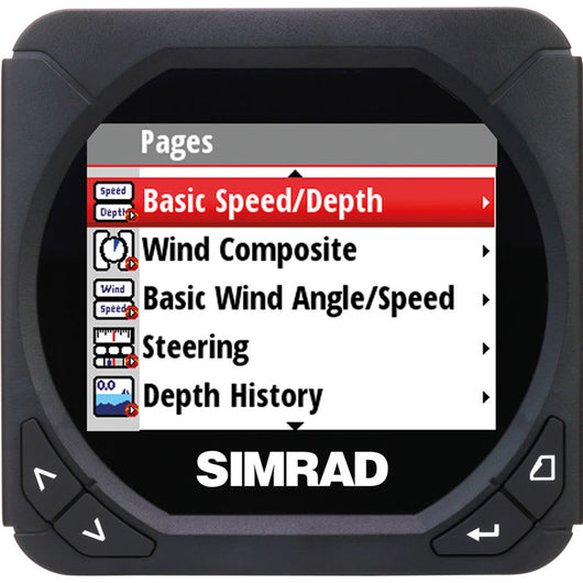 Simrad IS40 Color Digital Instrument Display