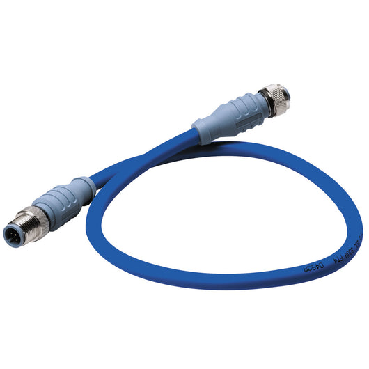 Maretron Mid Double-Ended Cordset - 2 Meter - Blue