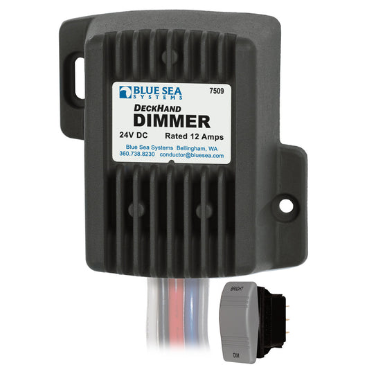 Blue Sea 7509 DeckHand Dimmer - 12 Amp/24V