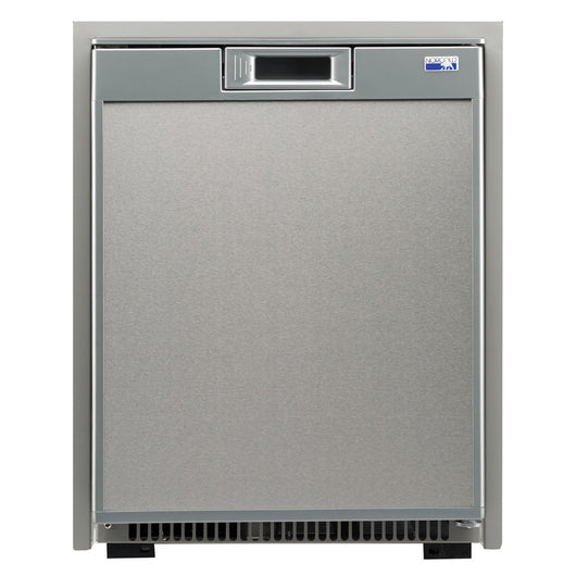 Norcold 1.7 Cubic Feet AC/DC Marine Refrigerator - Stainless Steel