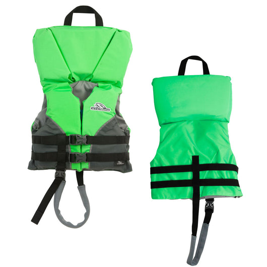 Stearns Infant Heads-Up® Nylon Vest Life Jacket - Up to 30lbs - Green