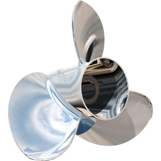 "Turning Point Express® Mach3 Right Hand Stainless Steel Propeller - E1-1012 - 10.75"" x 12"" - 3-Blade"