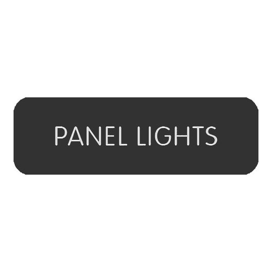 "Blue Sea Large Format Label - ""Panel Lights"""
