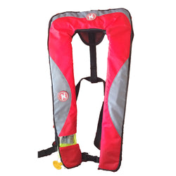 First Watch 24 Gram Inflatable PFD - Manual - Red/Grey