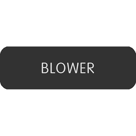 "Blue Sea Large Format Label - ""Blower"""
