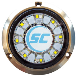 Shadow-Caster Blue/White Color Changing Underwater Light - 16 LEDs - Bronze
