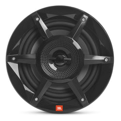 "JBL 8"" Coaxial Marine RGB Speakers - Black STADIUM Series"