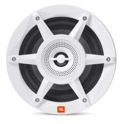 "JBL 8"" Coaxial Marine RGB Speakers - White STADIUM Series"