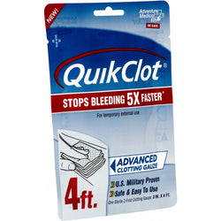 "Adventure Medical QuickClot Gauze 3"" x 4'"