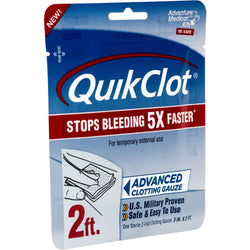 "Adventure Medical QuickClot Gauze 3"" x 2'"