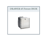 DRAWER 65 frost-free INOX