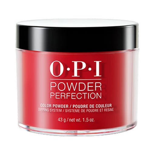 OPI Powder Perfection 'Big Apple Red' Dipping Powder [43g]