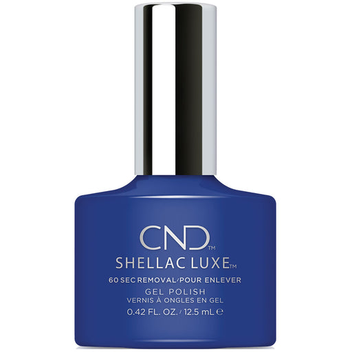 CND Shellac Luxe Blue Eyeshadow Gel Polish (12.5ml)