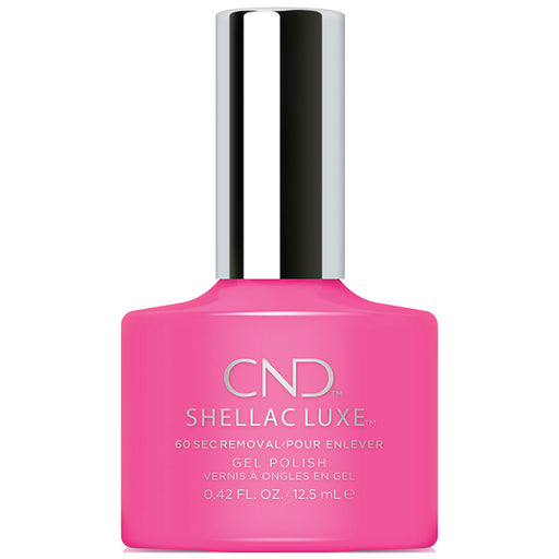 CND Shellac Luxe Hot Pop Pink Gel Polish (12.5ml)