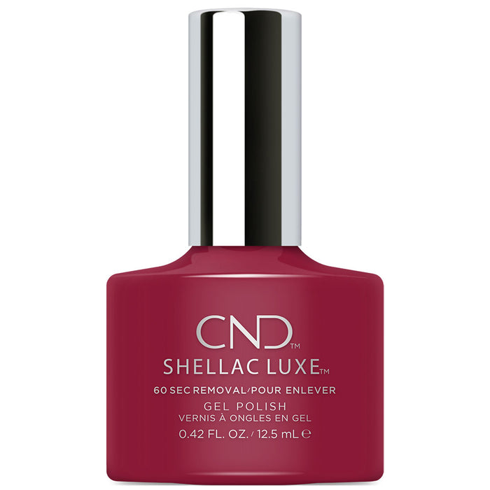 CND Shellac Luxe Rouge Rite Gel Polish (12.5ml)