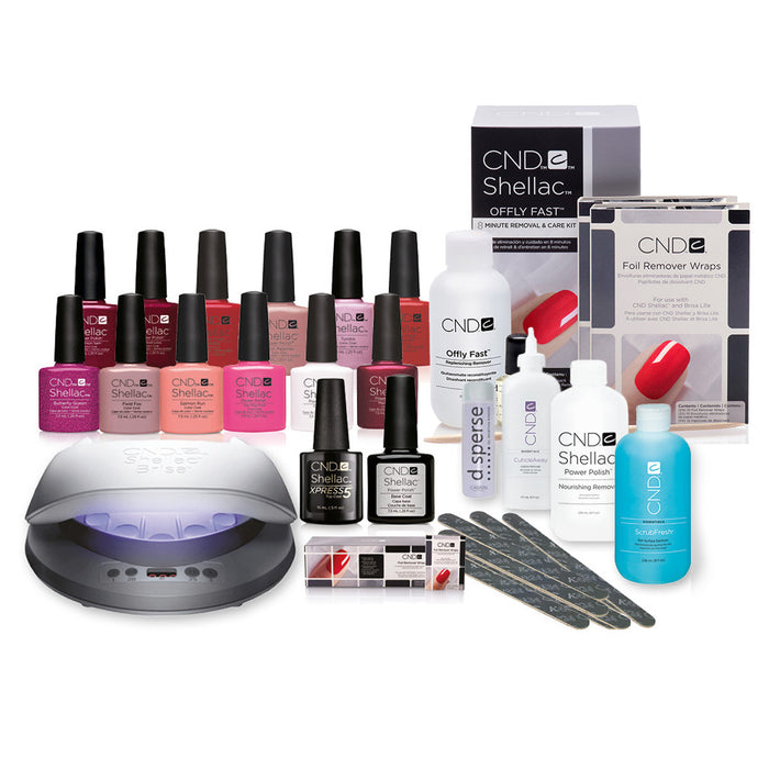 CND Shellac 'Love CND' Lamp Starter Kit