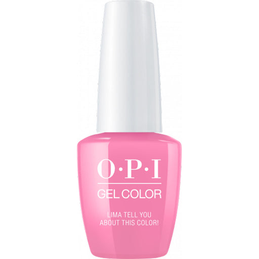 OPI GelColor Lima Tell You About This Color! (15ml)