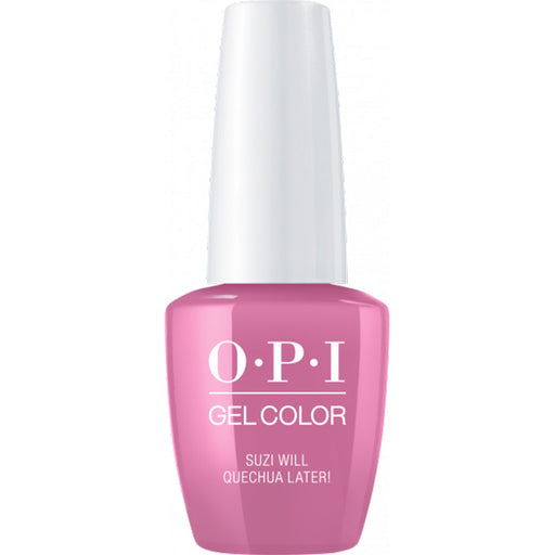 OPI GelColor Suzi Will Quecha Later! (15ml)